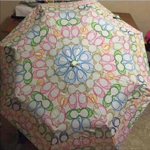 Coach umbrella